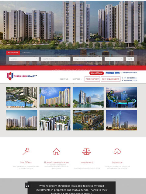 Threshold Realty Pvt Ltd