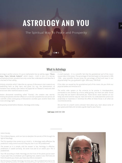 Vedic Astrology and You